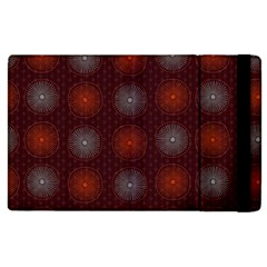 Abstract Dotted Pattern Elegant Background Apple Ipad 2 Flip Case by Simbadda
