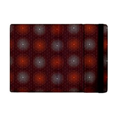 Abstract Dotted Pattern Elegant Background Apple Ipad Mini Flip Case by Simbadda