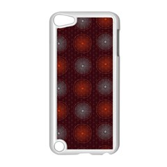 Abstract Dotted Pattern Elegant Background Apple Ipod Touch 5 Case (white) by Simbadda