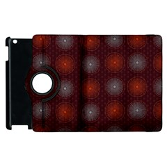 Abstract Dotted Pattern Elegant Background Apple Ipad 2 Flip 360 Case by Simbadda