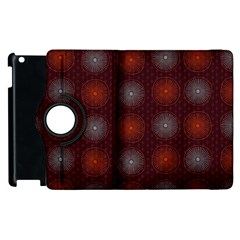 Abstract Dotted Pattern Elegant Background Apple Ipad 3/4 Flip 360 Case by Simbadda