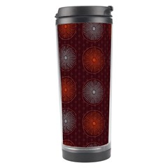 Abstract Dotted Pattern Elegant Background Travel Tumbler by Simbadda