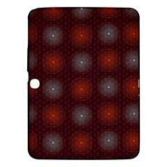 Abstract Dotted Pattern Elegant Background Samsung Galaxy Tab 3 (10 1 ) P5200 Hardshell Case  by Simbadda