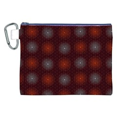 Abstract Dotted Pattern Elegant Background Canvas Cosmetic Bag (xxl) by Simbadda