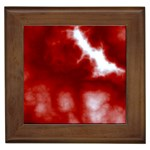Cherry Cream Sky Framed Tile