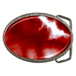 Cherry Cream Sky Belt Buckle