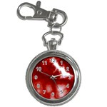 Cherry Cream Sky Key Chain Watch