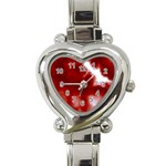 Cherry Cream Sky Heart Italian Charm Watch