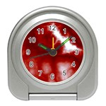 Cherry Cream Sky Travel Alarm Clock