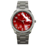 Cherry Cream Sky Sport Metal Watch