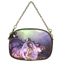Wonderful Fairy In The Wonderland , Colorful Landscape Chain Purses (one Side)  by FantasyWorld7
