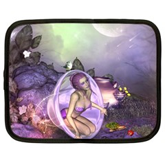 Wonderful Fairy In The Wonderland , Colorful Landscape Netbook Case (xxl)  by FantasyWorld7