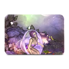 Wonderful Fairy In The Wonderland , Colorful Landscape Plate Mats by FantasyWorld7