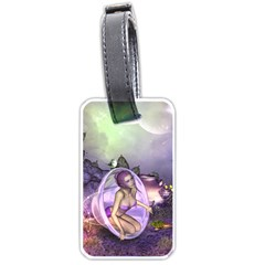 Wonderful Fairy In The Wonderland , Colorful Landscape Luggage Tags (two Sides) by FantasyWorld7