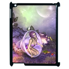 Wonderful Fairy In The Wonderland , Colorful Landscape Apple Ipad 2 Case (black) by FantasyWorld7