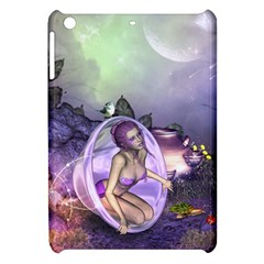 Wonderful Fairy In The Wonderland , Colorful Landscape Apple Ipad Mini Hardshell Case by FantasyWorld7