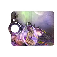 Wonderful Fairy In The Wonderland , Colorful Landscape Kindle Fire Hd (2013) Flip 360 Case by FantasyWorld7