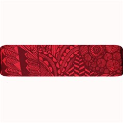 Deep Red Background Abstract Large Bar Mats by Simbadda
