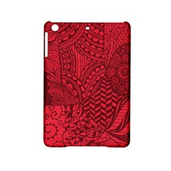Deep Red Background Abstract iPad Mini 2 Hardshell Cases by Simbadda