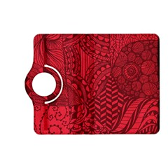 Deep Red Background Abstract Kindle Fire Hd (2013) Flip 360 Case by Simbadda