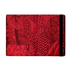 Deep Red Background Abstract Ipad Mini 2 Flip Cases by Simbadda