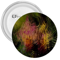 Abstract Brush Strokes In A Floral Pattern  3  Buttons by Simbadda