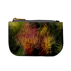 Abstract Brush Strokes In A Floral Pattern  Mini Coin Purses by Simbadda