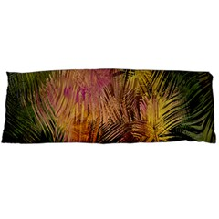 Abstract Brush Strokes In A Floral Pattern  Body Pillow Case (dakimakura) by Simbadda