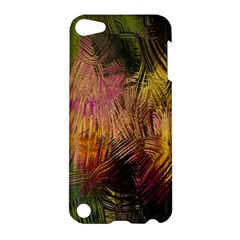 Abstract Brush Strokes In A Floral Pattern  Apple Ipod Touch 5 Hardshell Case by Simbadda