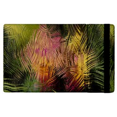 Abstract Brush Strokes In A Floral Pattern  Apple Ipad 3/4 Flip Case by Simbadda