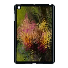 Abstract Brush Strokes In A Floral Pattern  Apple Ipad Mini Case (black) by Simbadda
