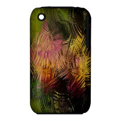 Abstract Brush Strokes In A Floral Pattern  Iphone 3s/3gs by Simbadda