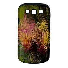 Abstract Brush Strokes In A Floral Pattern  Samsung Galaxy S Iii Classic Hardshell Case (pc+silicone) by Simbadda
