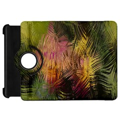 Abstract Brush Strokes In A Floral Pattern  Kindle Fire Hd 7  by Simbadda