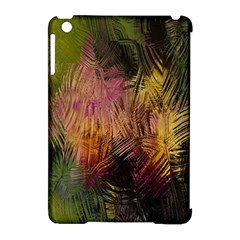 Abstract Brush Strokes In A Floral Pattern  Apple Ipad Mini Hardshell Case (compatible With Smart Cover) by Simbadda