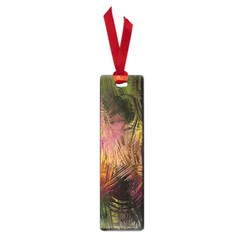 Abstract Brush Strokes In A Floral Pattern  Small Book Marks by Simbadda