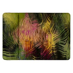 Abstract Brush Strokes In A Floral Pattern  Samsung Galaxy Tab 8 9  P7300 Flip Case by Simbadda