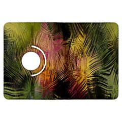 Abstract Brush Strokes In A Floral Pattern  Kindle Fire Hdx Flip 360 Case by Simbadda