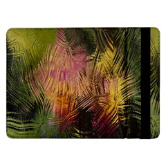 Abstract Brush Strokes In A Floral Pattern  Samsung Galaxy Tab Pro 12 2  Flip Case by Simbadda