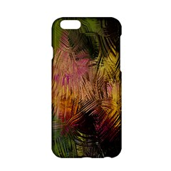 Abstract Brush Strokes In A Floral Pattern  Apple Iphone 6/6s Hardshell Case by Simbadda