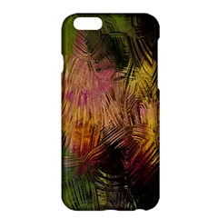Abstract Brush Strokes In A Floral Pattern  Apple Iphone 6 Plus/6s Plus Hardshell Case by Simbadda