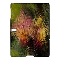 Abstract Brush Strokes In A Floral Pattern  Samsung Galaxy Tab S (10 5 ) Hardshell Case  by Simbadda