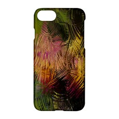 Abstract Brush Strokes In A Floral Pattern  Apple Iphone 7 Hardshell Case