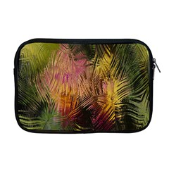 Abstract Brush Strokes In A Floral Pattern  Apple Macbook Pro 17  Zipper Case by Simbadda