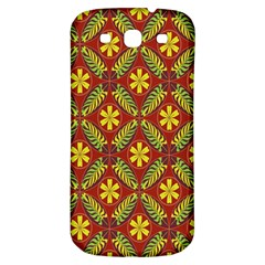 Beautiful Abstract Pattern Background Wallpaper Seamless Samsung Galaxy S3 S Iii Classic Hardshell Back Case by Simbadda