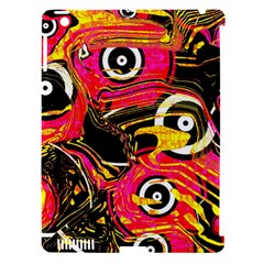 Abstract Clutter Pattern Baffled Field Apple Ipad 3/4 Hardshell Case (compatible With Smart Cover) by Simbadda