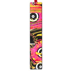 Abstract Clutter Pattern Baffled Field Large Book Marks by Simbadda