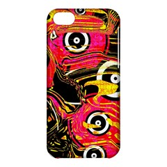 Abstract Clutter Pattern Baffled Field Apple Iphone 5c Hardshell Case by Simbadda