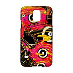 Abstract Clutter Pattern Baffled Field Samsung Galaxy S5 Hardshell Case  by Simbadda