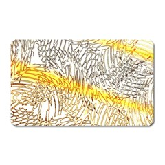 Abstract Composition Pattern Magnet (rectangular) by Simbadda